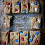 M&M's® Shortbread Squares