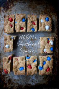 M&M's® Shortbread Squares