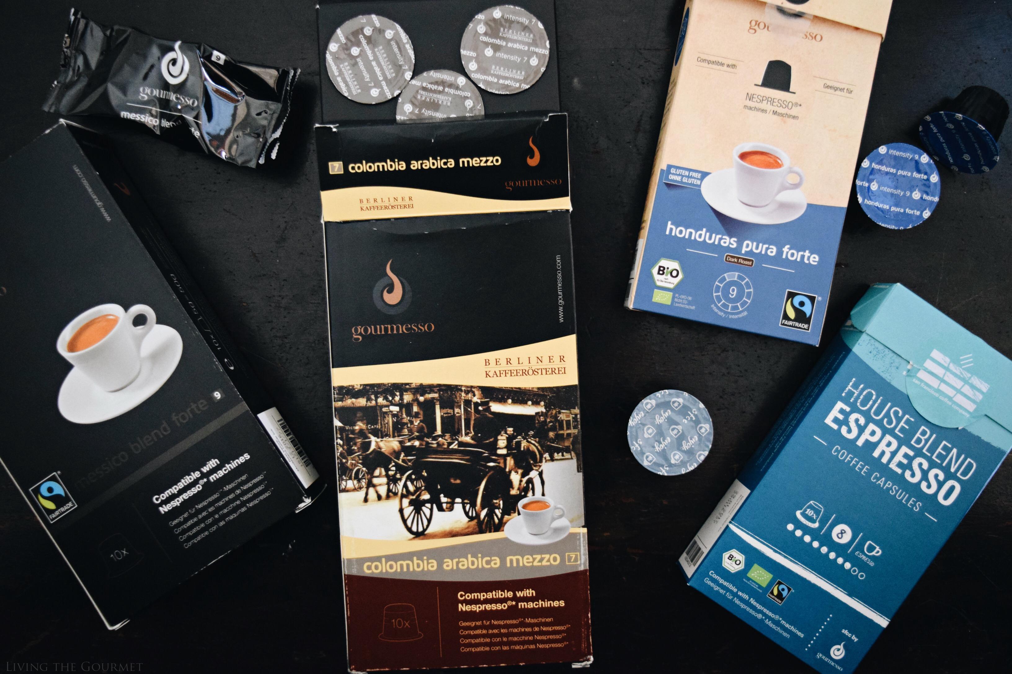Living the Gourmet: Mason Jar Lid Pies & Gourmesso Espresso