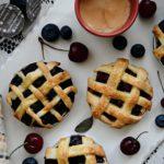 Mason Jar Lid Pies & Gourmesso Coffee