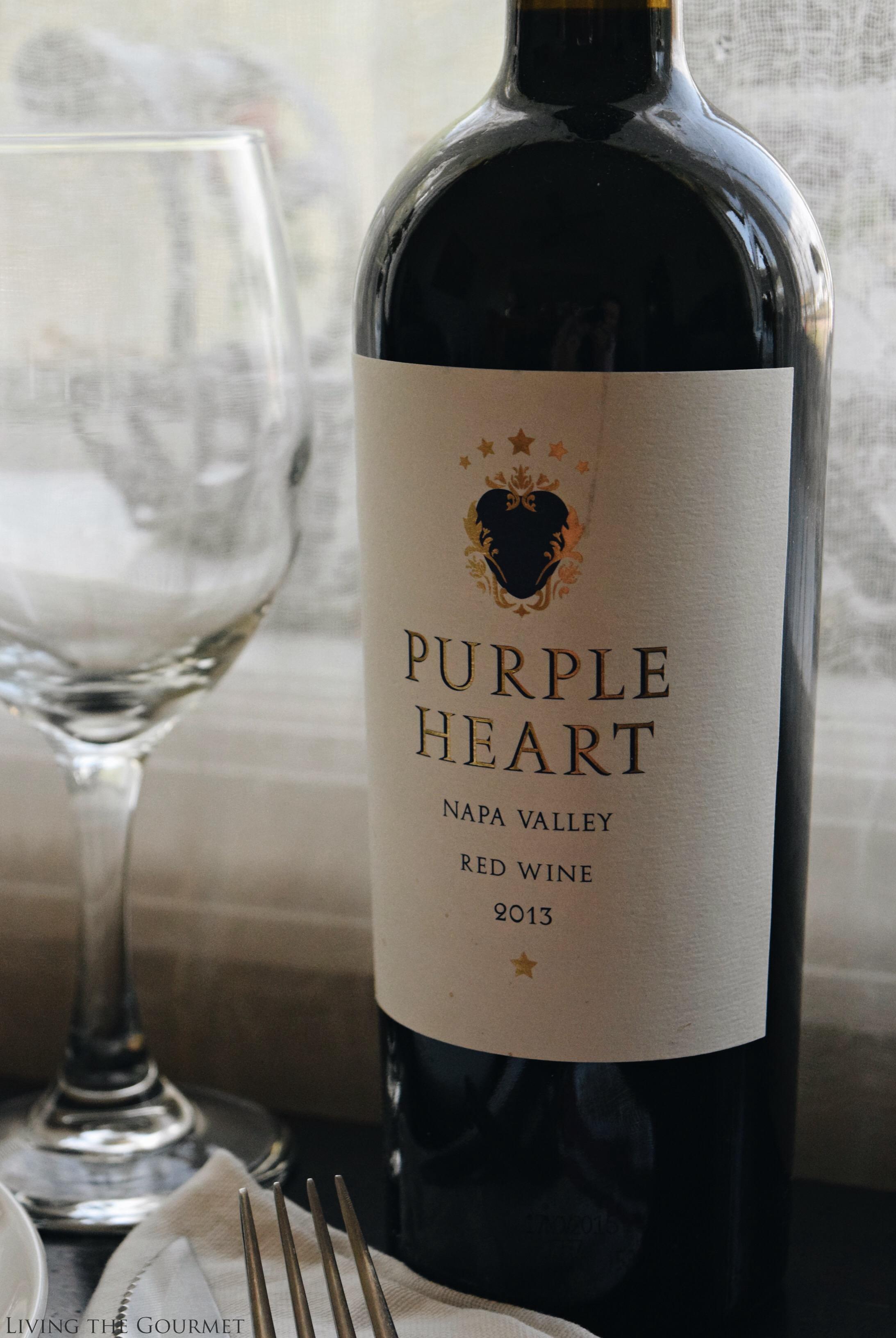 Living the Gourmet: Purple Heart Wine