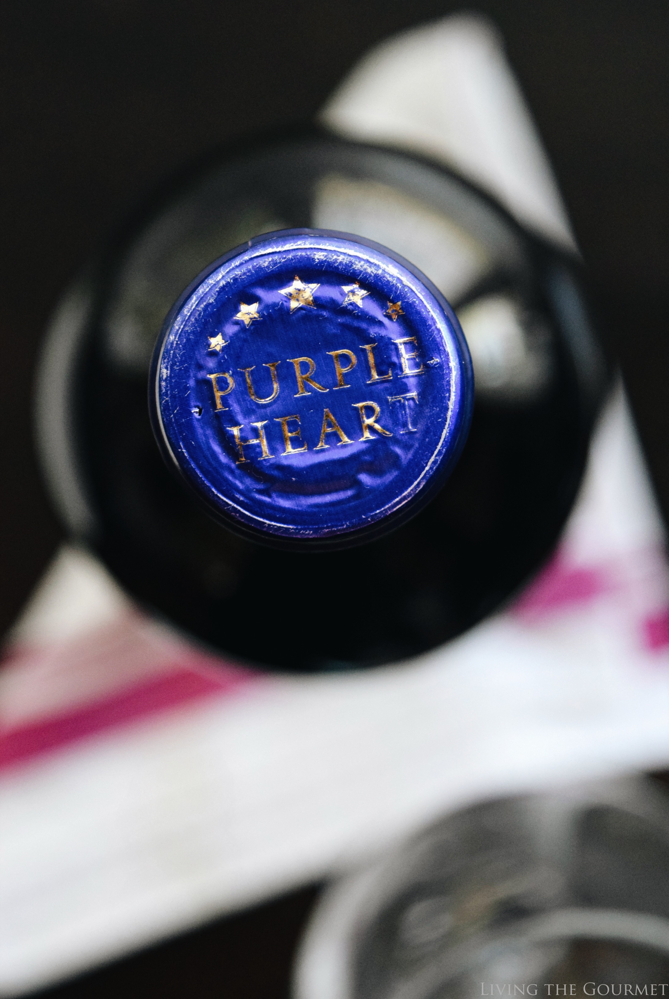 Living the Gourmet: Purple Heart Wine