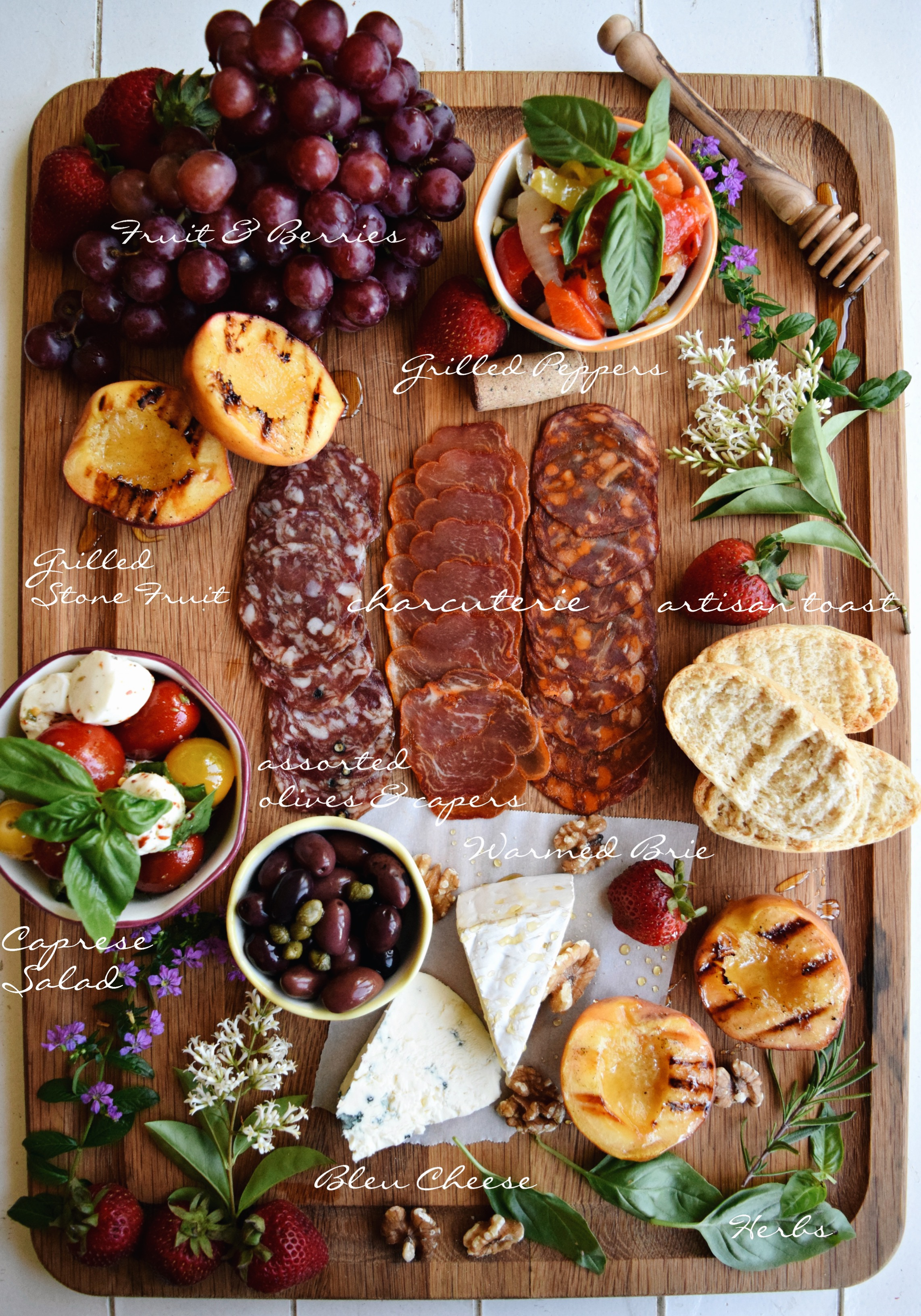 Living the Gourmet: The Perfect Charcuterie Board