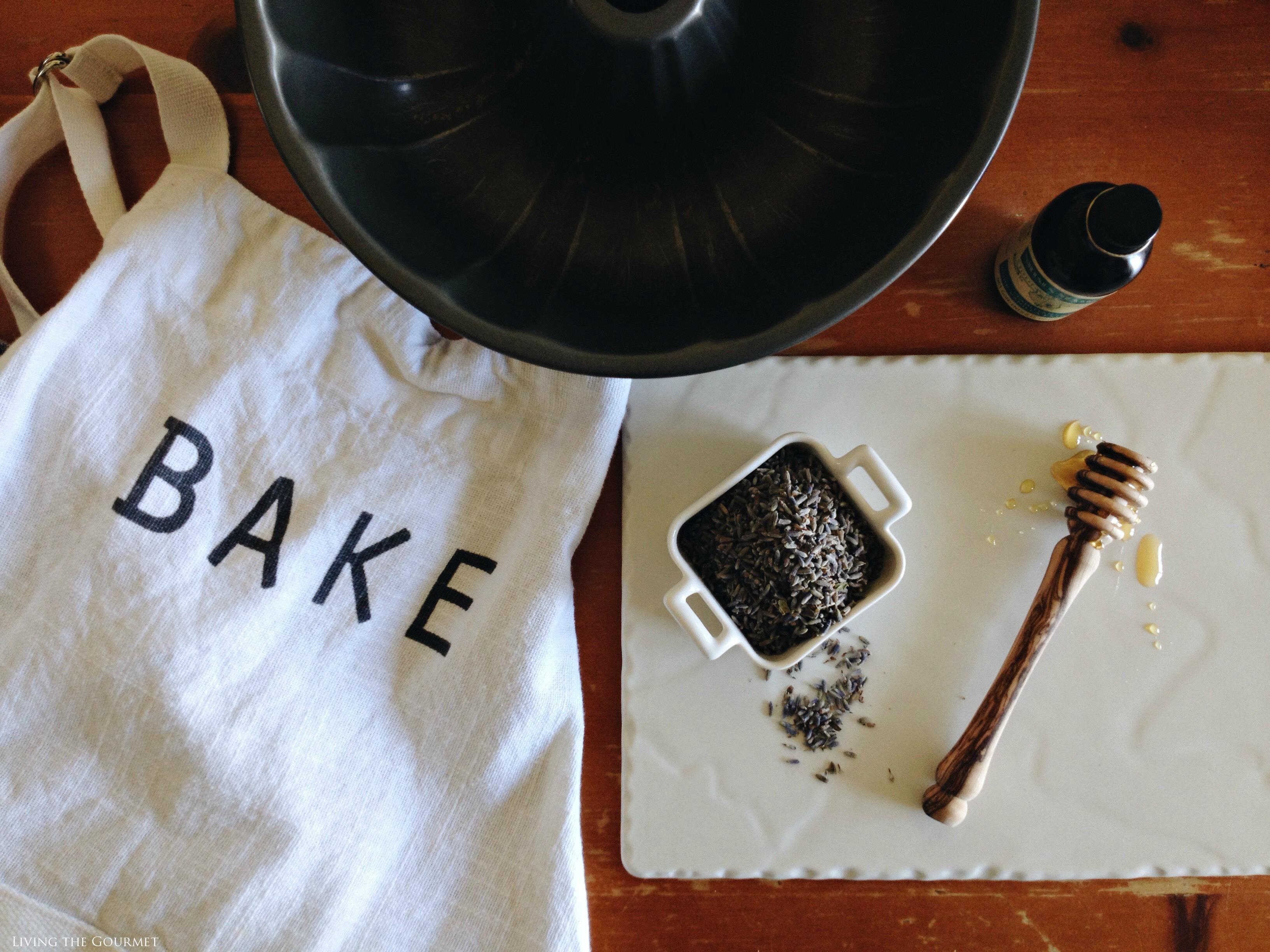 Living the Gourmet: Lavender & Honey Bundt | #BundtBakers