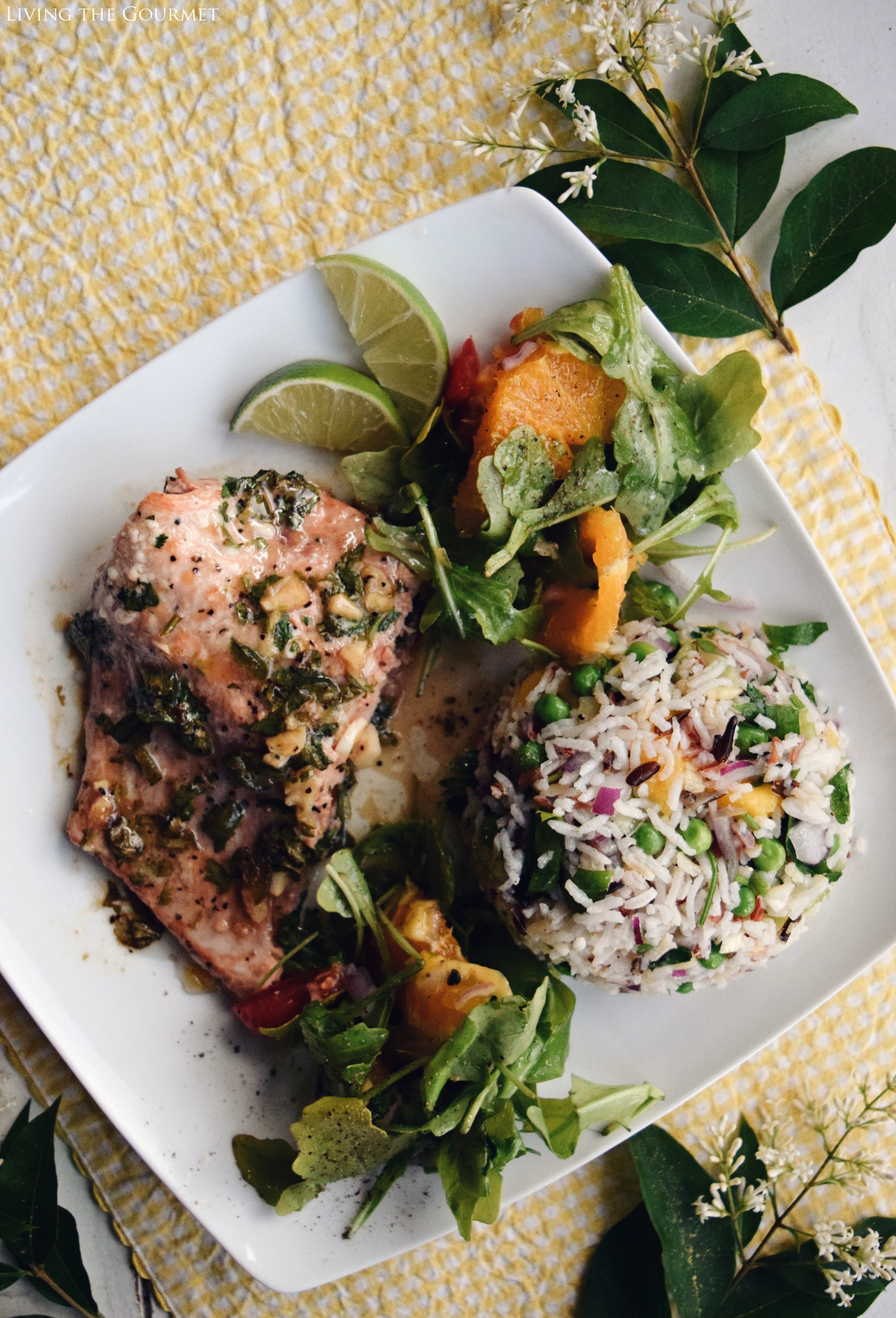 Living the Gourmet: Southwest Style Salmon