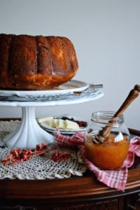 Apple Honey Blossom Bundt – #BundtBakers
