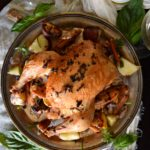 Brown Butter Herb Roast Chicken