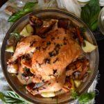 Brown Butter Herb Roast Chicken