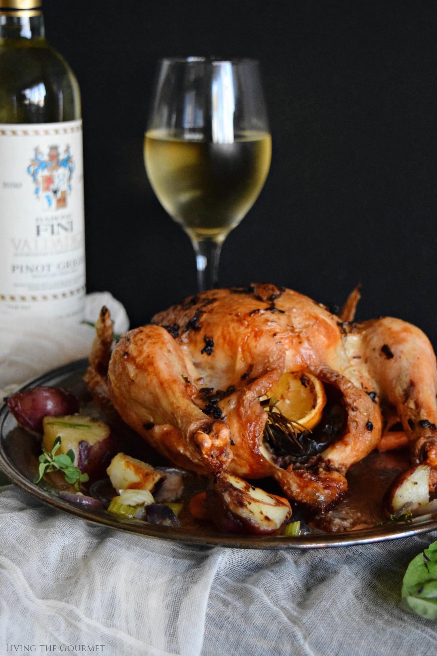 Living the Gourmet: Brown Butter Summer Roast Chicken