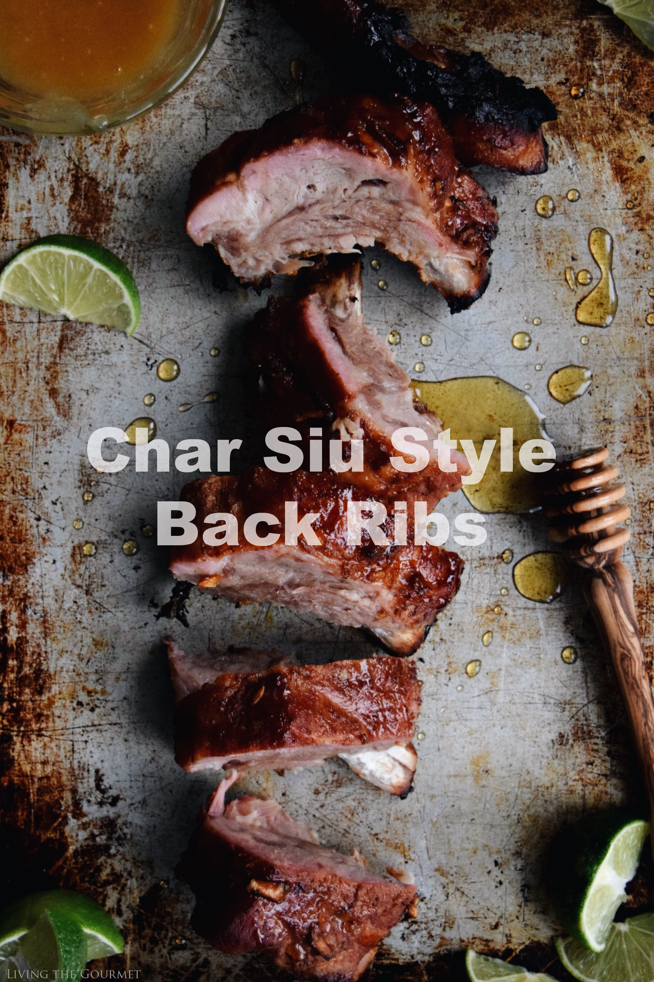 Living the Gourmet: Char Siu Style Back Ribs | #HogWildThrowdown #ad