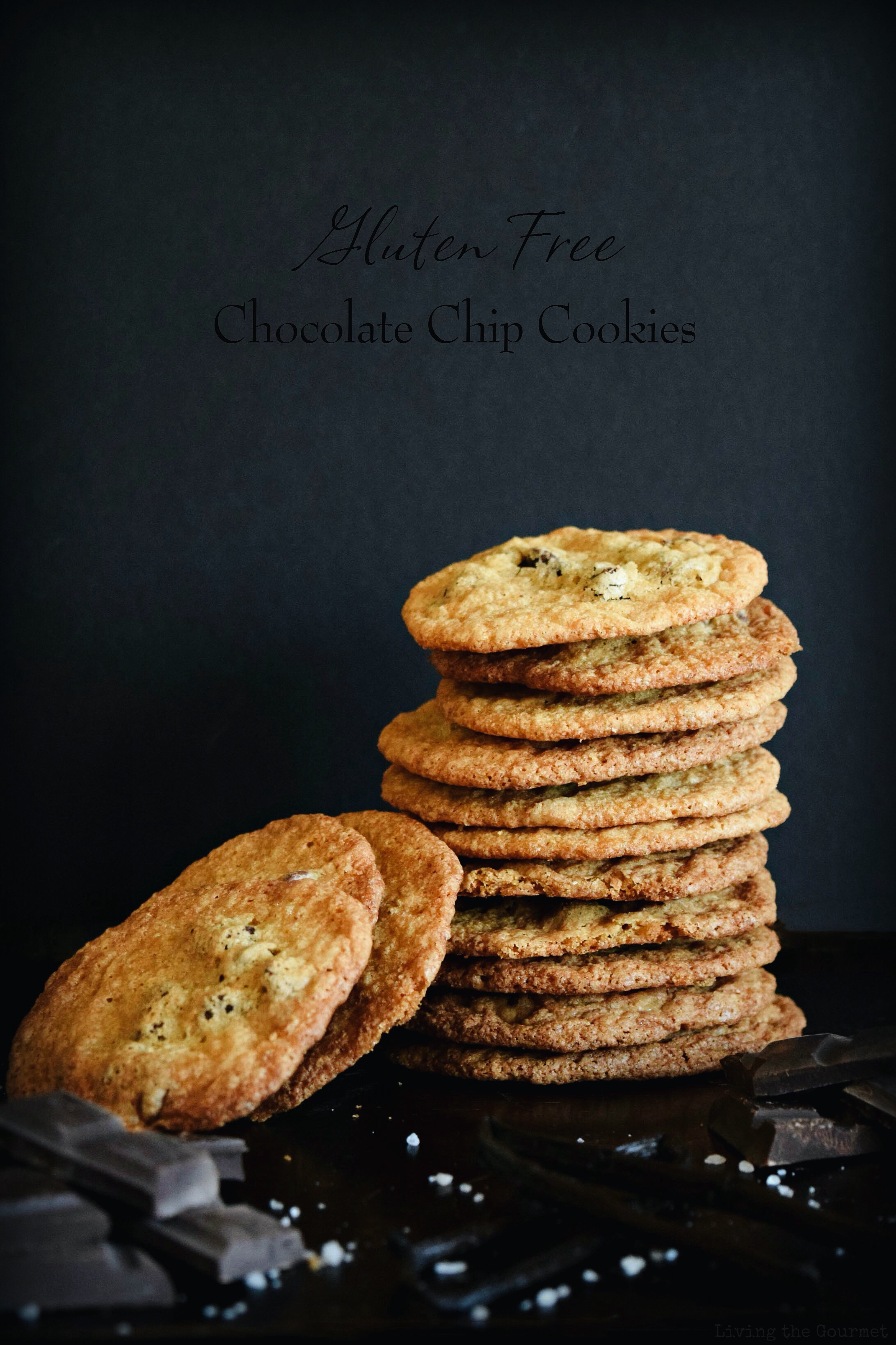 Living the Gourmet: Gluten Free Chocolate Chip Cookies