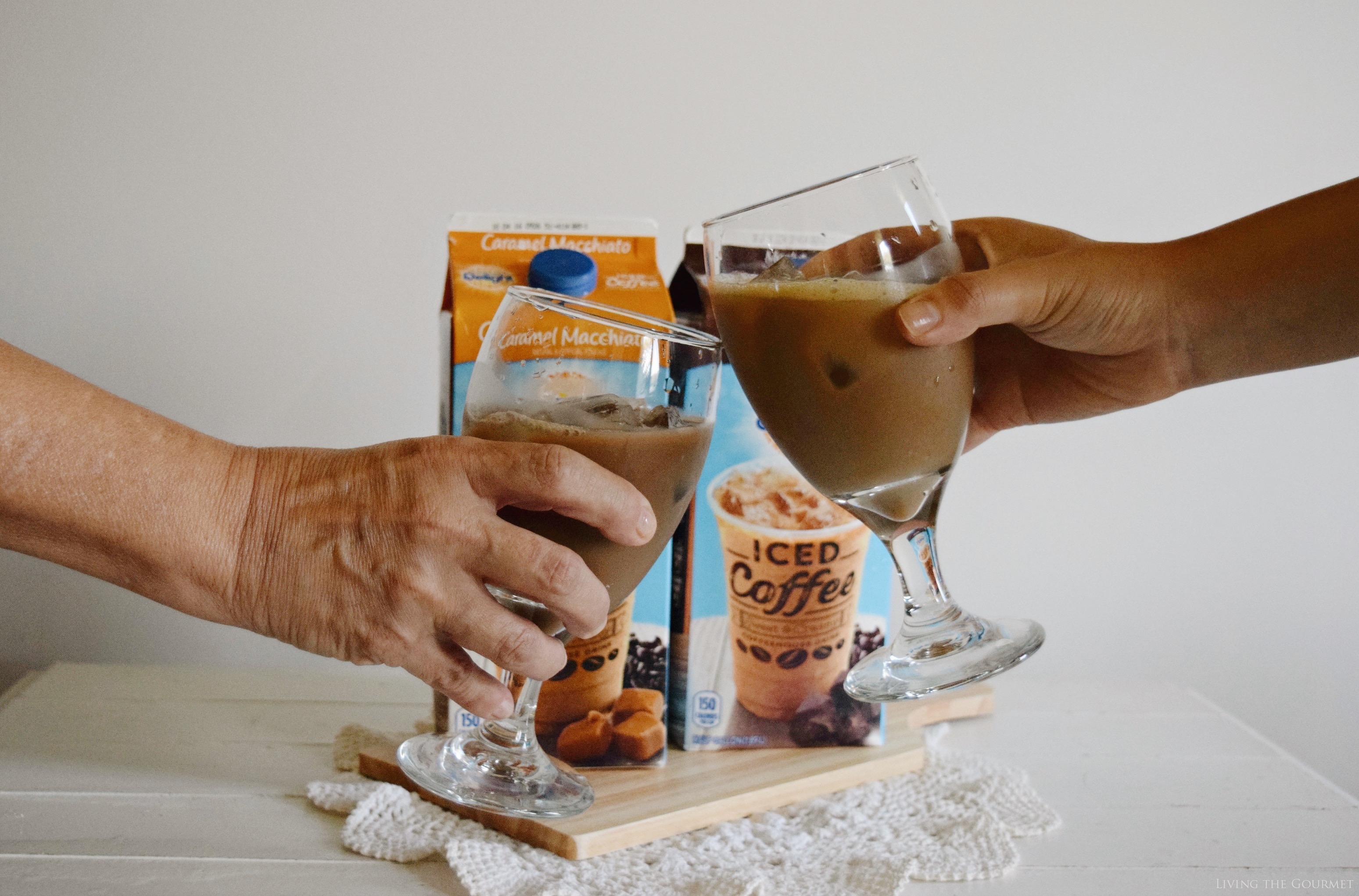 Living the Gourmet: Caramel Macchiato Ice Cream {No Churn} | #FoundMyDelight #ad