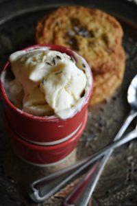 Lavender Irish Cream Ice Cream {No Churn}