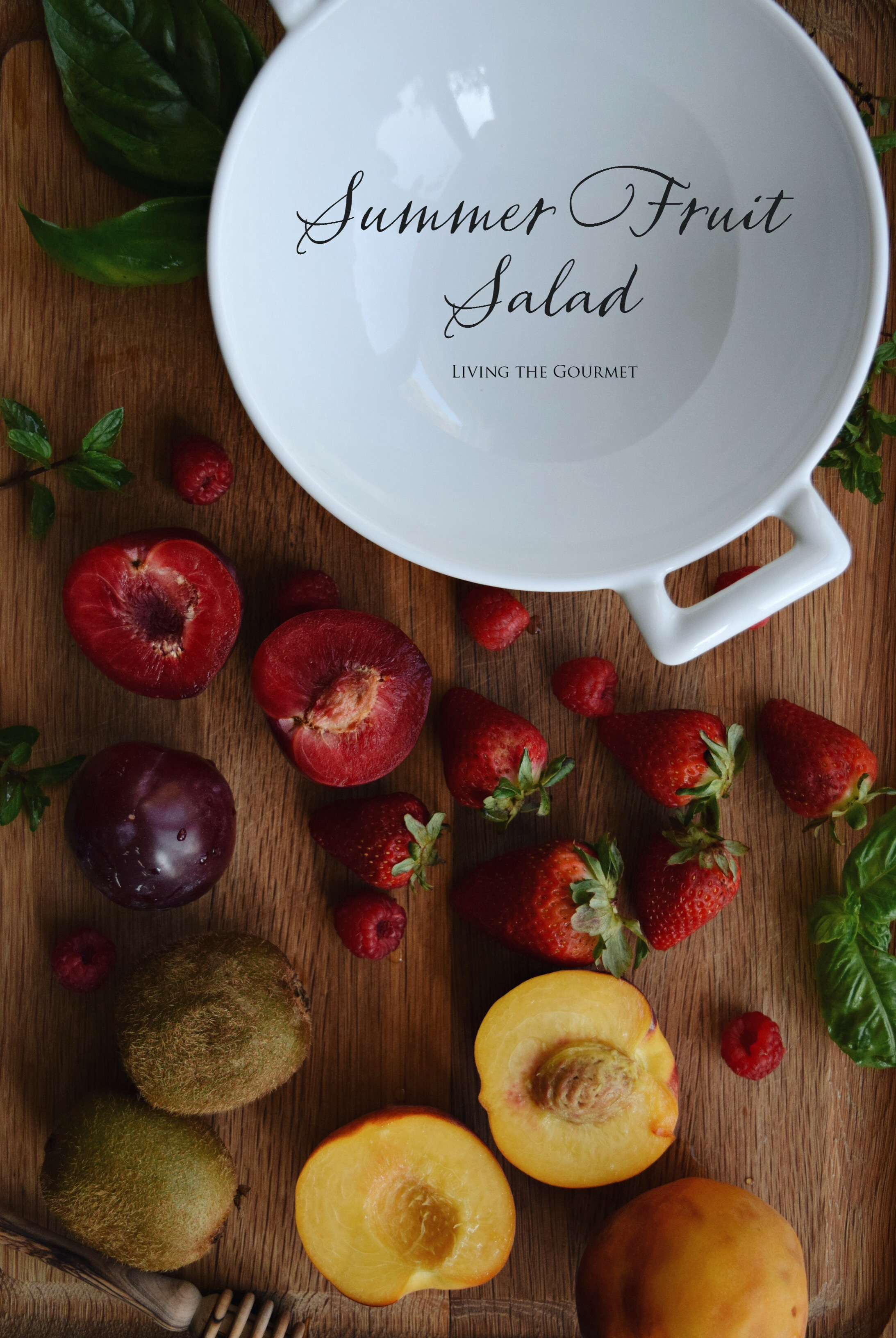Living the Gourmet: Summer Fruit Salad with Jimmy Dean Breakfasts | #JDGreatDays #ShineON #pmedia #ad