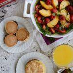 Summer Fruit Salad with Jimmy Dean Breakfasts