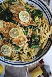 Bistro Style Penne and Lemon Chicken