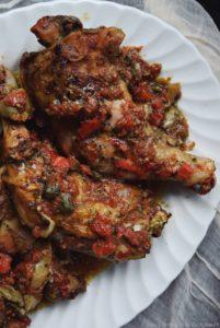 Mediterranean Style Chicken