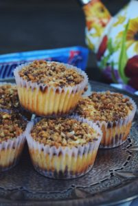 Mini SNICKERS® Crispers Cheesecakes