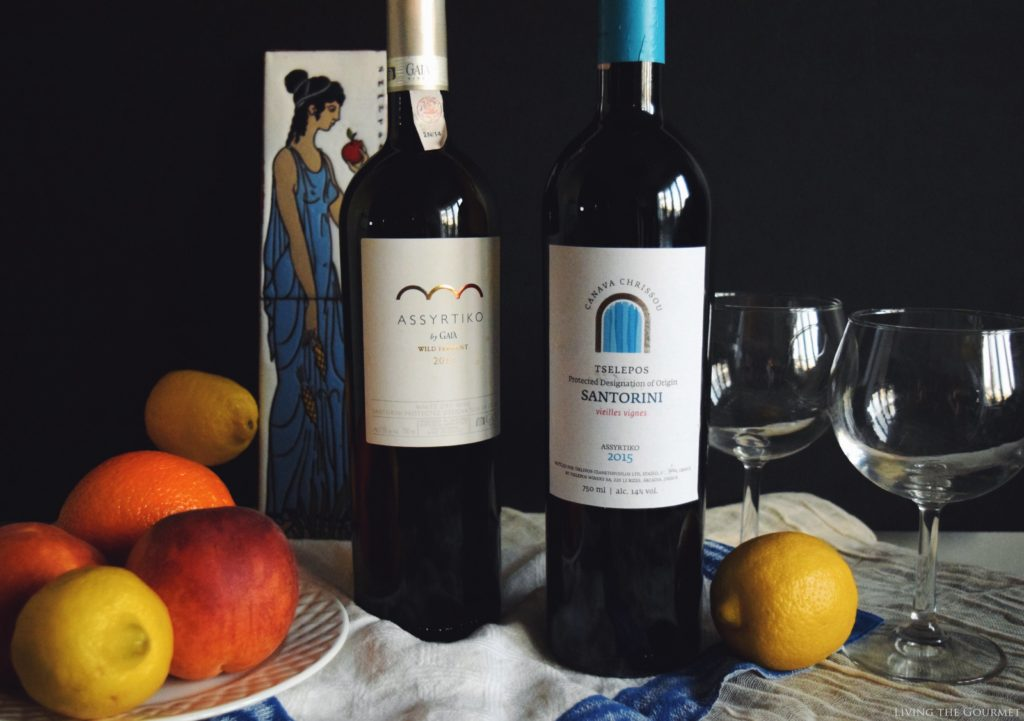 Living the Gourmet: Wines from Santorini