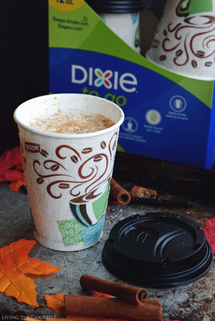 Living the Gourmet: Pumpkin Spice Caramel Latte | #CupForCrushingIt #ad
