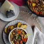 Roasted Veggie and Chicken Soup