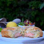 Fresh Salmon Filo Pastries