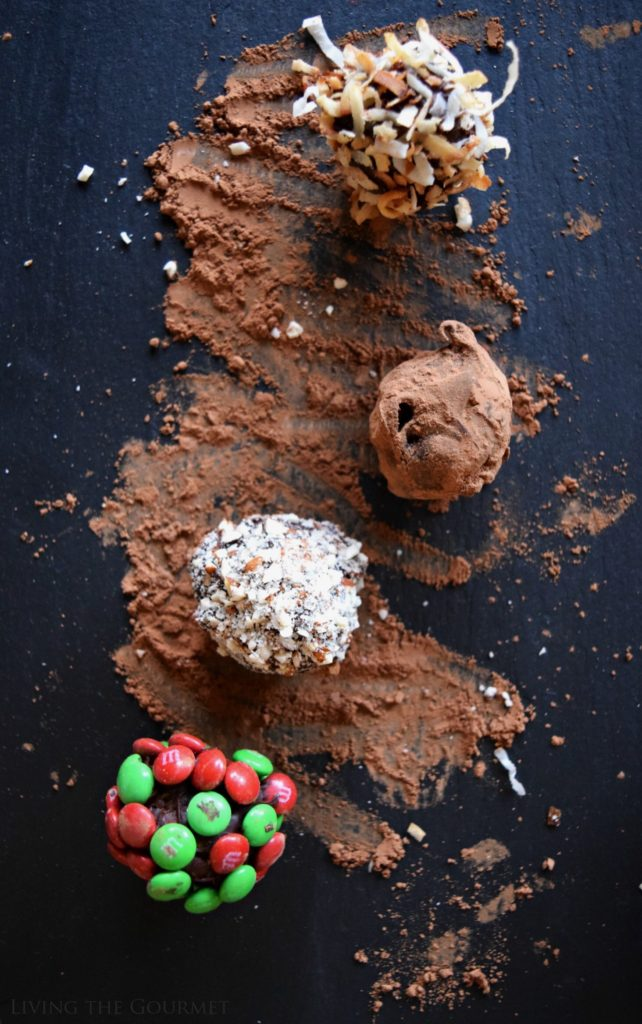 Living the Gourmet: Chocolate Holiday Truffles | #BakeInTheFun #SweetSquad #Ad