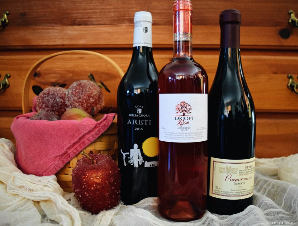 Living the Gourmet: Thanksgiving with Santorini Wines