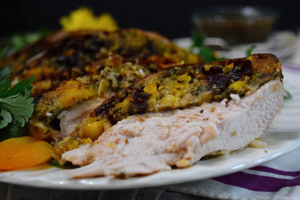 Living the Gourmet: Stuffed Turkey Breast