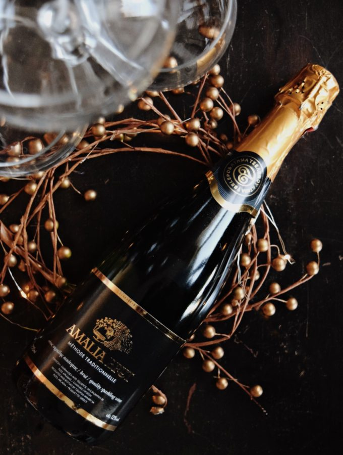 Living the Gourmet: Amalia Brut Wine
