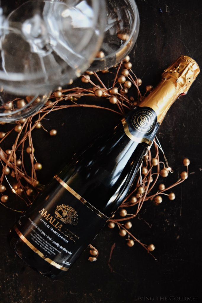 Living the Gourmet: Amalia Brut Wine