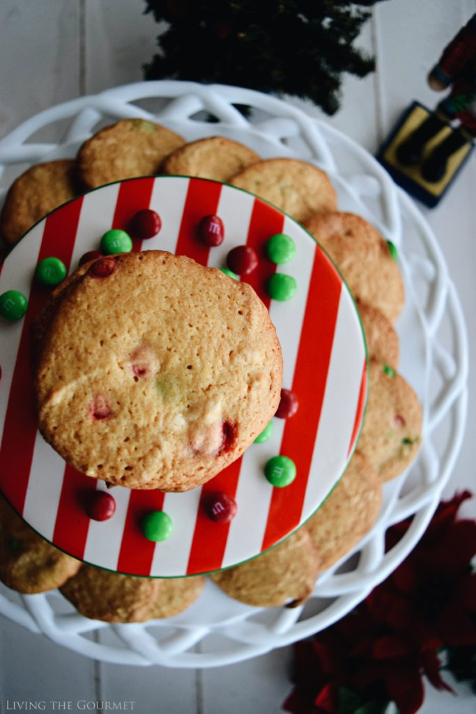 Living the Gourmet: Peanut Butter Vanilla Cookies   #SweetSquad