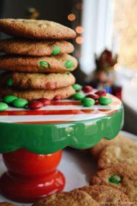 Peanut Butter Vanilla Cookies