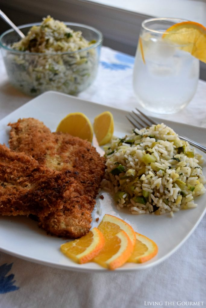 Living the Gourmet: Panko Crusted Fish with Ginger Rice Salad | SUCCESSfulHoliday AD