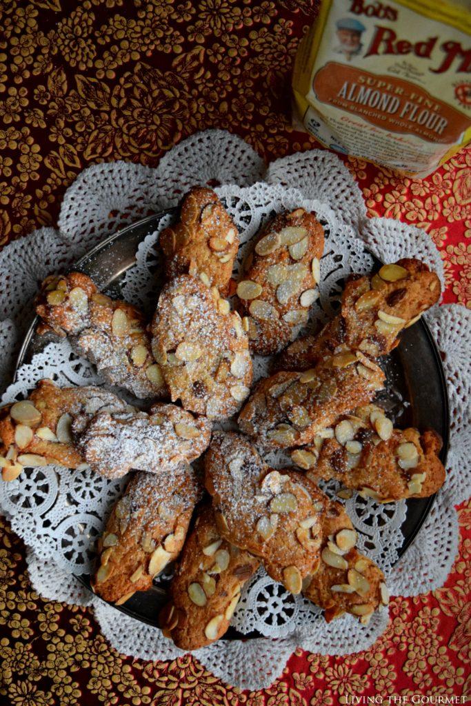 Living the Gourmet: Gluten Free Almond Cookies | #BobsHolidayCheer #ad