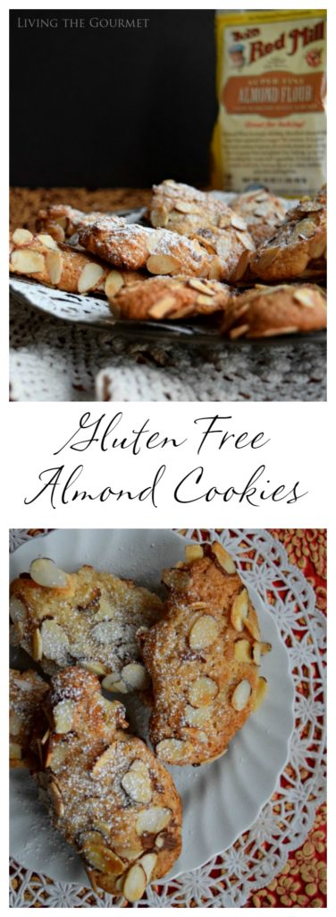 Living the Gourmet: Gluten Free Almond Cookies | #BobsHolidayCheer #ad