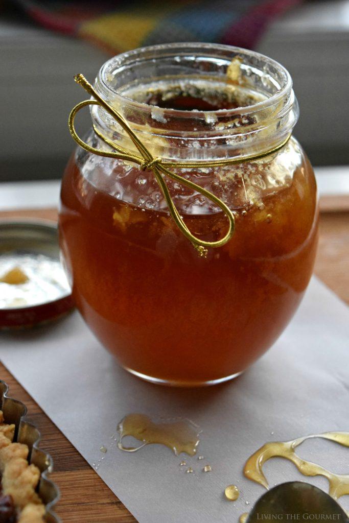 Living the Gourmet: Honey Nut Tart   #HoneyForHolidays #DonVictorHoney #ad