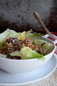 Roasted Buckwheat Salad & Giveaway