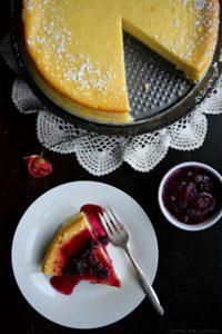 Light Ricotta Cheesecake