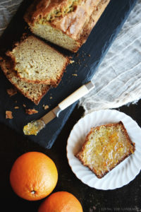 Banana Butter Bread + Giveaway