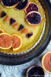 Citrus Custard Tart + Giveaway