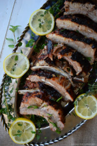 Mediterranean Style Back Ribs
