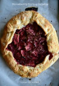 Strawberry Spring Galette