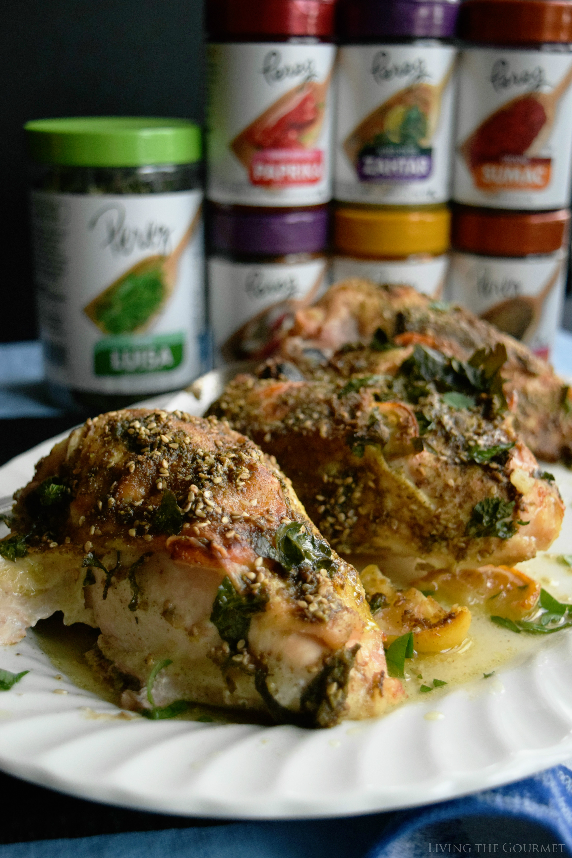 Zahtar Spiced Chicken Breast Living The Gourmet