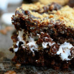 Rice Krispies Brownie S'mores