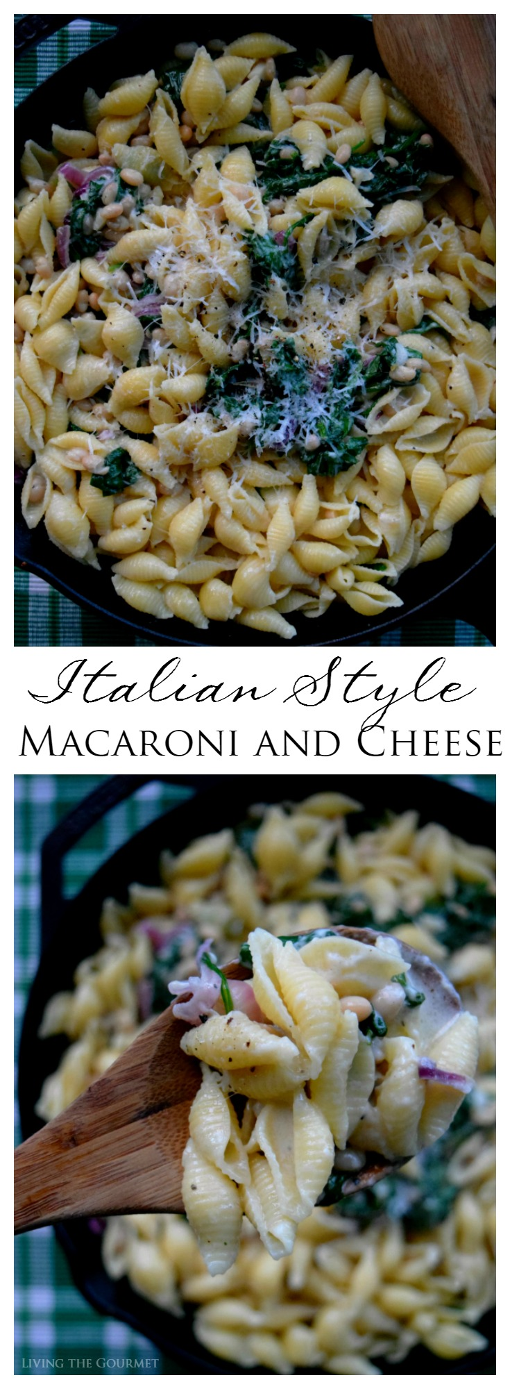 Italian Style Macaroni and Cheese - Living The Gourmet