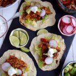 Fresh Chicken Tacos