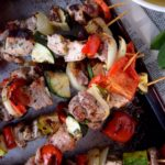 Pork and Veggie Kabobs
