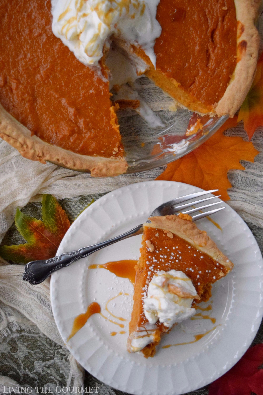 Classic Sweet Potato Pie - Living The Gourmet