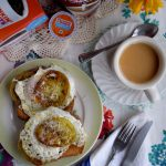 Sunnyside Eggs with Fried Green Tomatoes